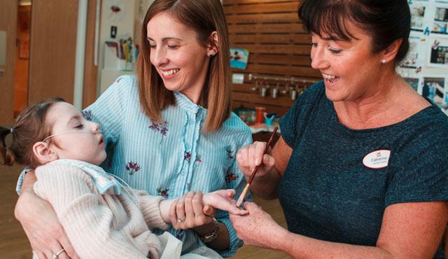 Family in hospice