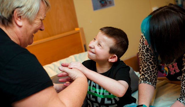 child in hospice
